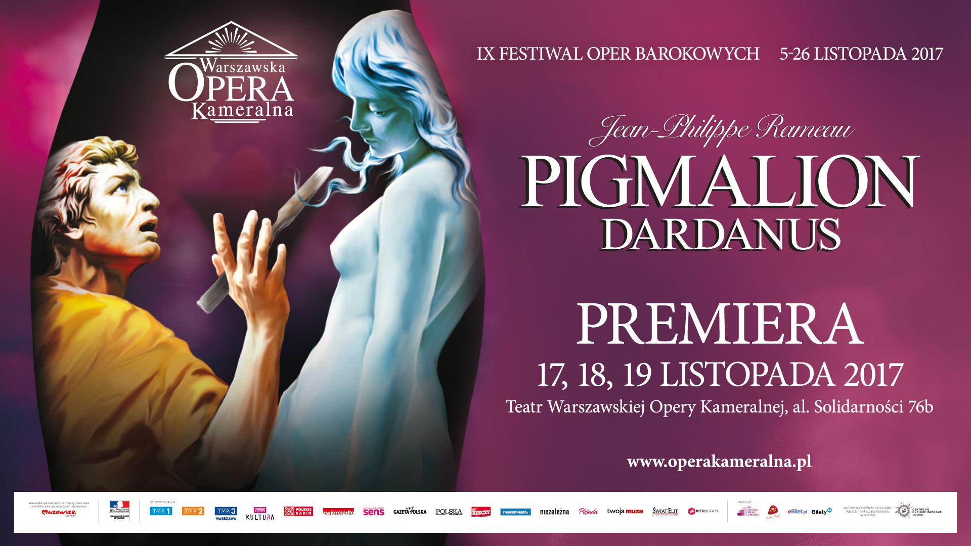 PIGMALION / DARDANUS - PREMIERE IN WARSAW CHAMBER OPERA