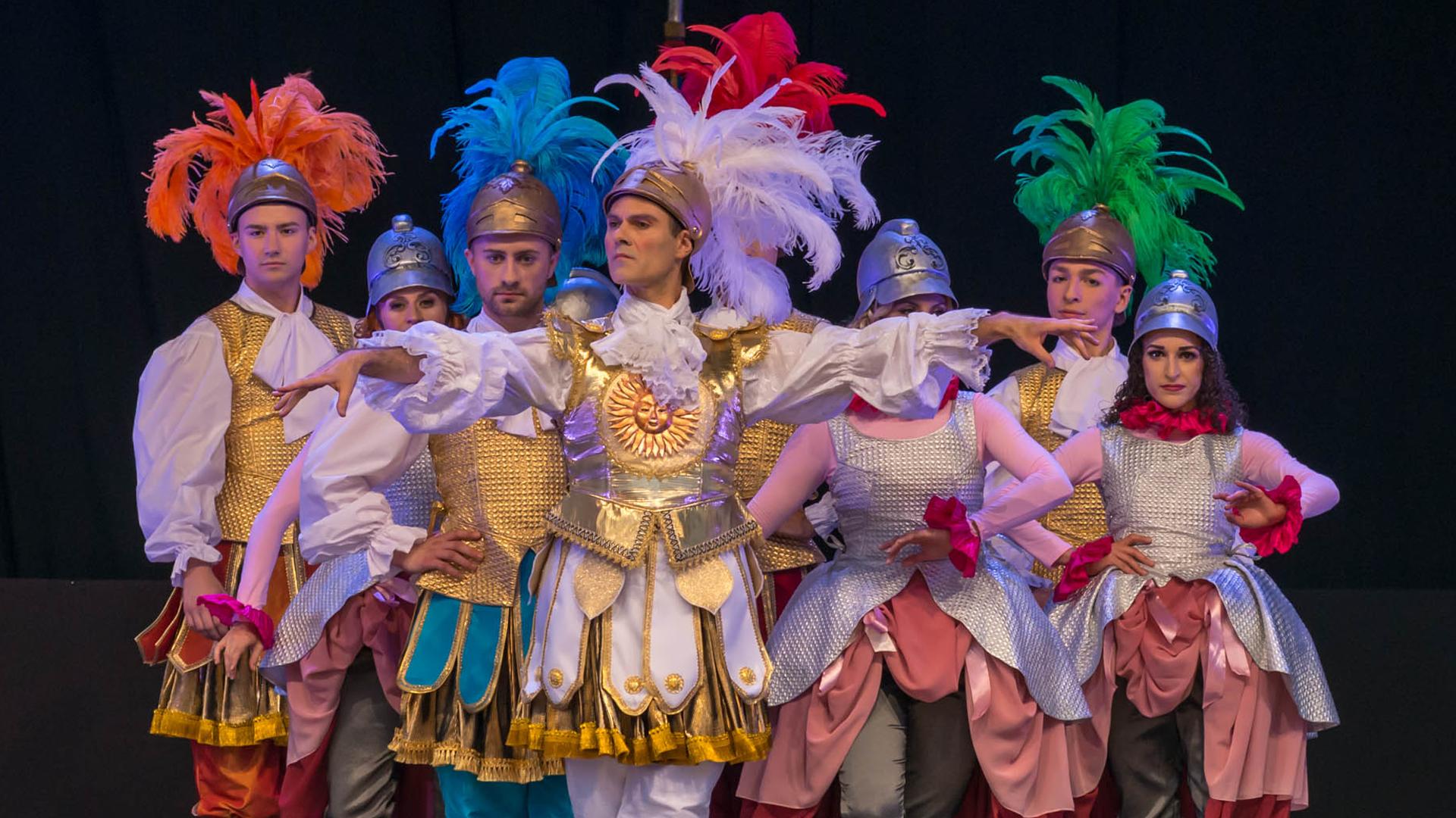 GRAND FINALE OF THE 19. CRACOVIA DANZA COURT DANCE FESTIVAL
