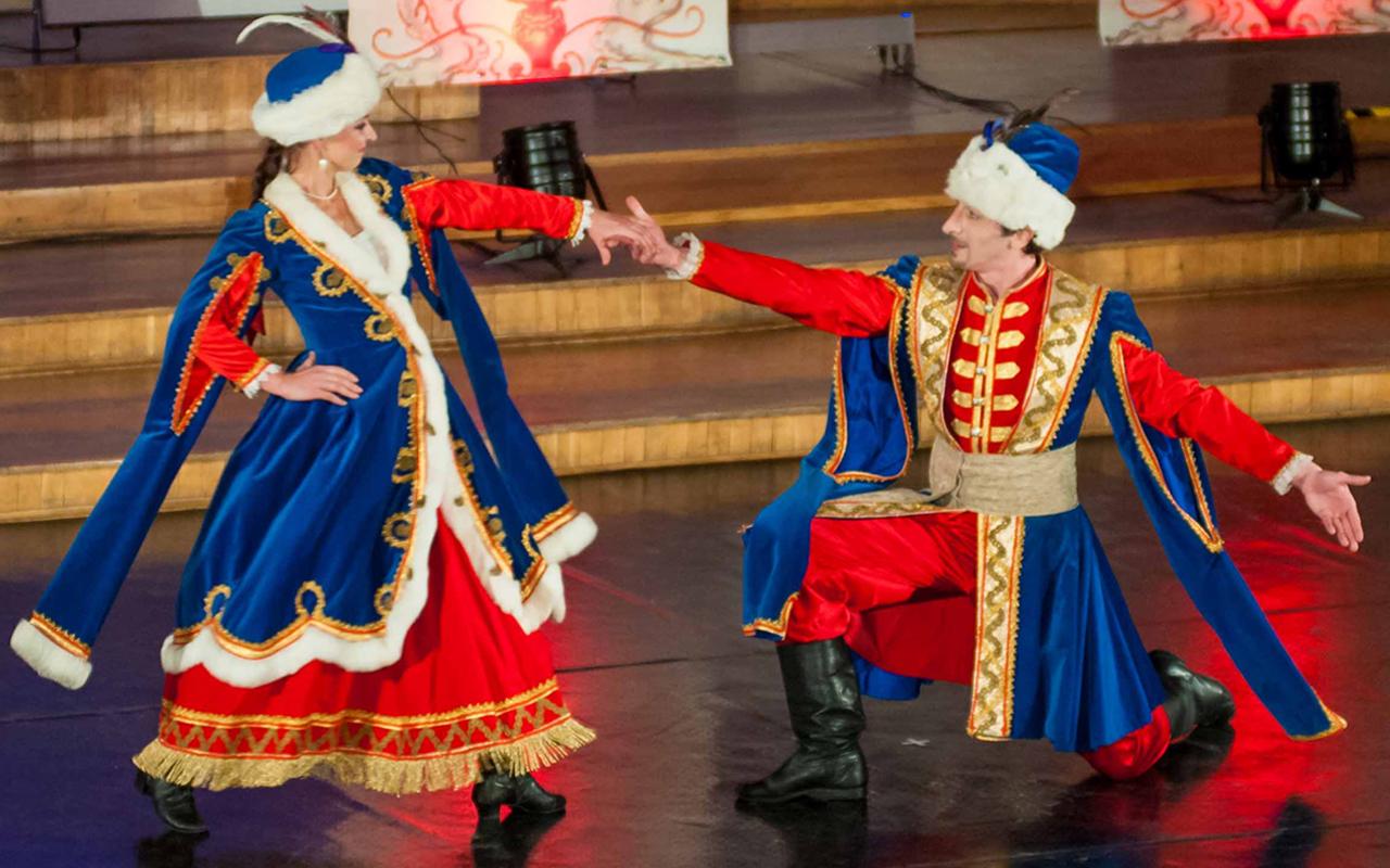 Taniec polski przez wieki