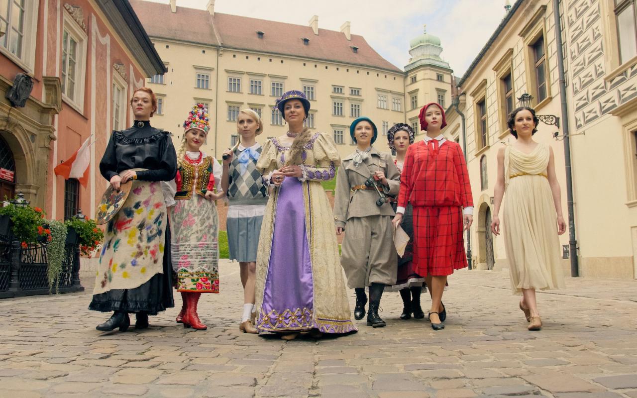 Szlakiem kobiet Krakowa